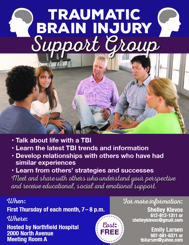 Head injury adult support group