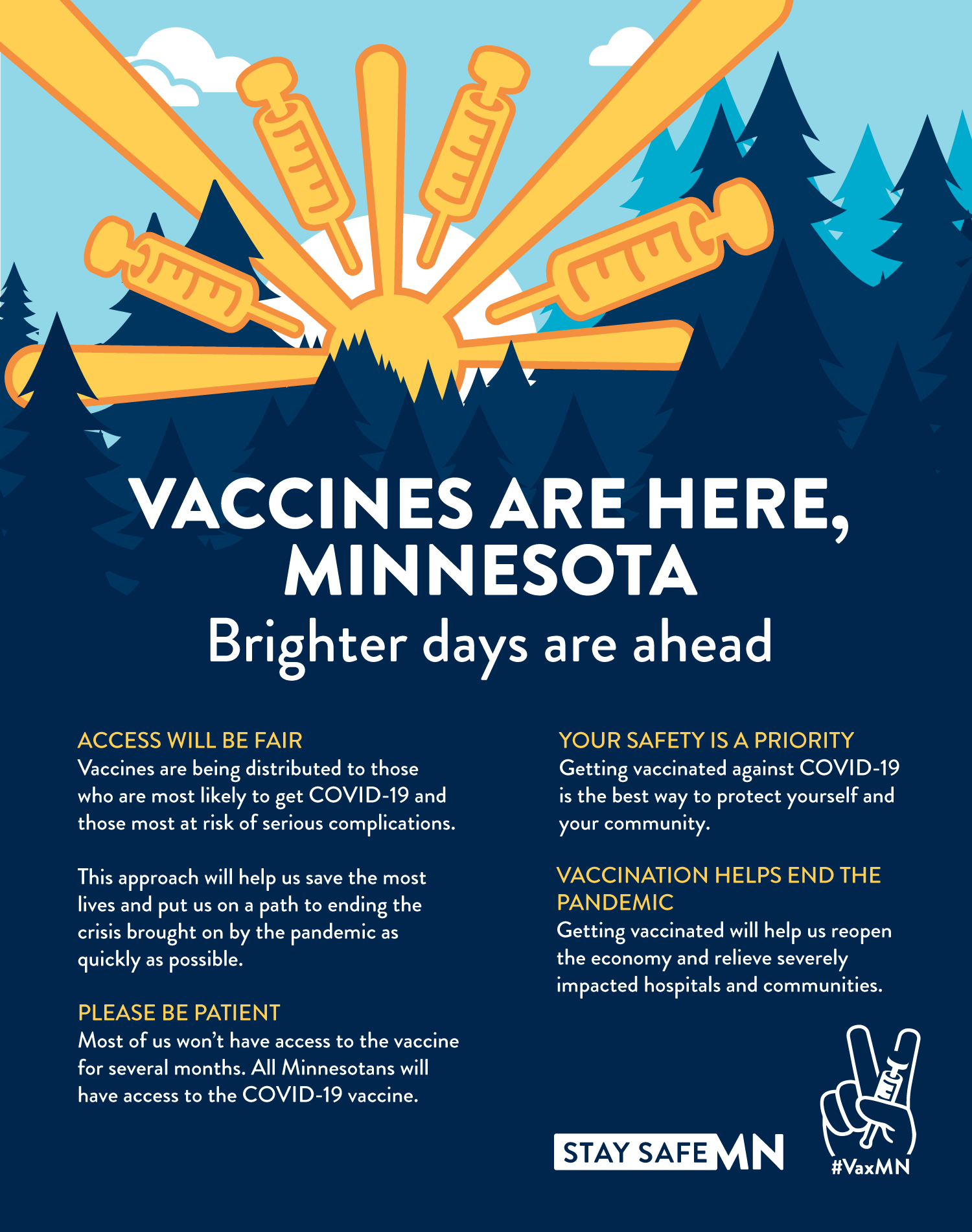 Be Ready! Frequently asked questions about COVID vaccines