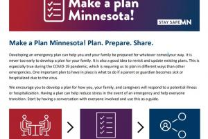 New planning tool helps families prepare alternative childcare if parents get sick