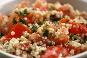 Greek Salad with Couscous