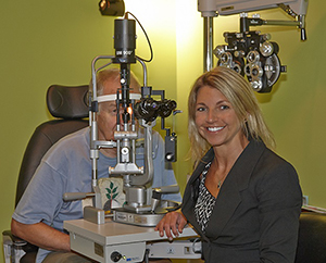 Vision loss in people over 55, Dr Michelle Muench