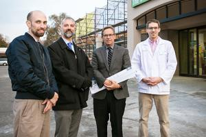 Healthcare hub under construction in downtown Northfield